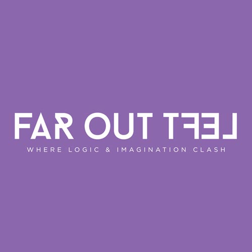 far-out-left logo design branding web design
