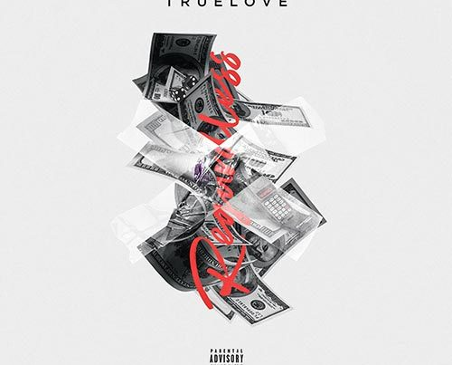 truelove single cover artwork design